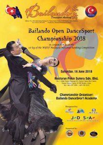 Bailando Open Dancesport Championship 2018