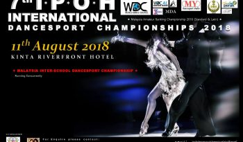 7th Ipoh International Dancesport Championships 2018