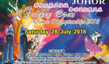 Johor Galaxy Open Dance Championships 2018