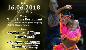 Kluang International Dance Championship 2018