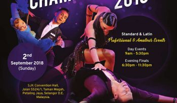 16th Crystal Dancesport Championships 2018