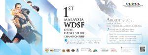 1st Malaysia WDSF Open Dancesport Championship 2018