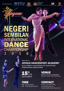 Negeri Sembilan International Dance Championship 2018