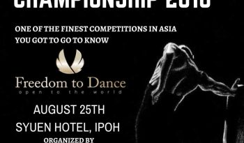 Perak International Dance Championship 2018
