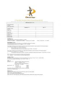 DanceMaxx International Ballroom Dancing Championship 2018 Entry Form