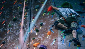 Rocking Climbing Practice