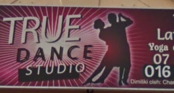 True Dance Studio Signboard