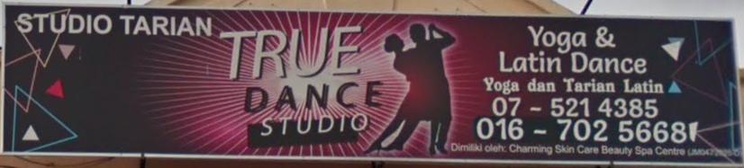 True Dance Studio Signboard