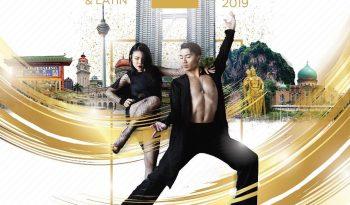 2nd Kuala Lumpur City International Ballroom & Latin Dance Championship 2019 Poster