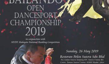 Bailando Open Dancesport Championship 2019