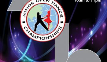Johor Open Dance Championships 2019 Poster