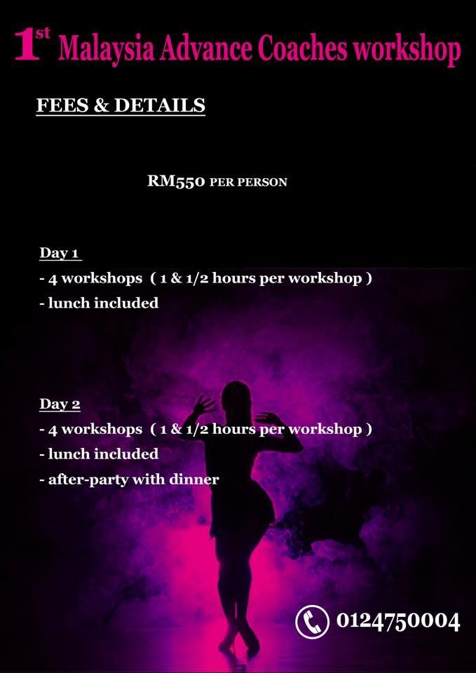 Malaysia Advance Coaches Workshop Fee & Details