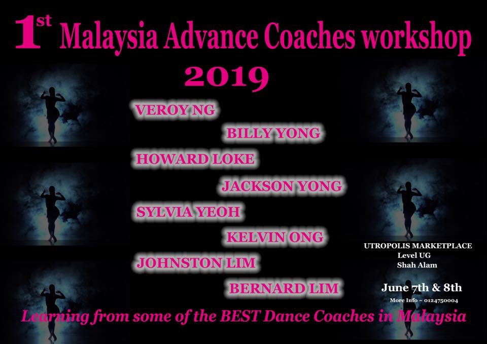 Malaysia Advance Coaches Workshop Instructors