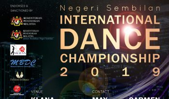 Negeri Sembilan International Dance Championship 2019