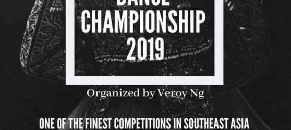 Perak International Dance Championship 2019 Poster